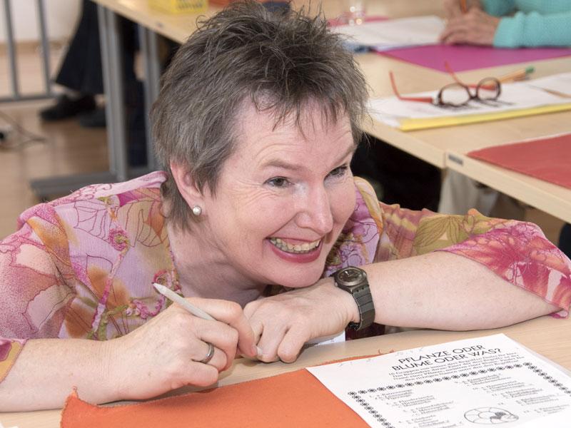 Barbara Purin -Kling unterstützt bei Gedächtnistraining